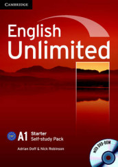 English Unlimited Starter Self-study Pack (Workbook with DVD-ROM) av Adrian Doff og Nick Robinson (Blandet mediaprodukt)