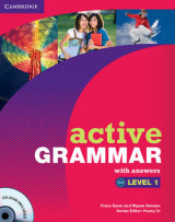 Omslag - Active Grammar Level 1 with Answers and CD-ROM