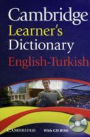 Omslag - Cambridge Learner's Dictionary English-Turkish with CD-ROM