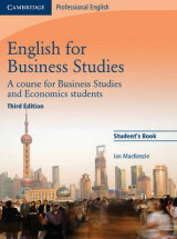 Omslag - English for Business Studies Student's Book