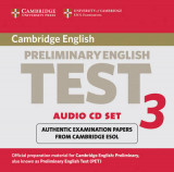 Omslag - Cambridge Preliminary English Test 3 Audio CD Set (2 CDs)