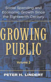 Growing Public: Volume 2, Further Evidence av Peter H. Lindert (Innbundet)