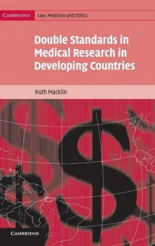 Double Standards in Medical Research in Developing Countries av Ruth Macklin (Innbundet)