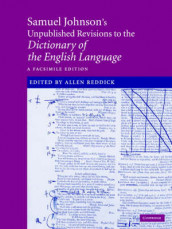 Samuel Johnson's Unpublished Revisions to the Dictionary of the English Language av Samuel Johnson (Innbundet)