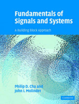 Omslag - Fundamentals of Signals and Systems with CD-ROM