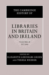 Omslag - The Cambridge History of Libraries in Britain and Ireland 3 Volume Hardback Set