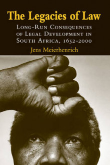 The Legacies of Law av Jens Meierhenrich (Innbundet)