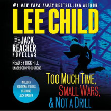 Three More Jack Reacher Novellas av Lee Child (Lydbok-CD)