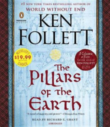 The Pillars of the Earth av Ken Follett (Lydbok-CD)