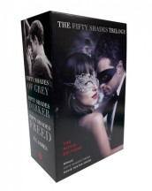 Fifty Shades Trilogy: The Movie Tie-In Editions with Bonus Poster av E L James (Heftet)