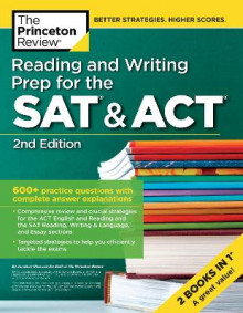 Reading and Writing Prep for the SAT and ACT av Princeton Review (Heftet)