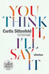 You Think It, I'll Say It av Curtis Sittenfeld (Heftet)