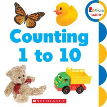 Counting 1 to 10 (Pappbok)