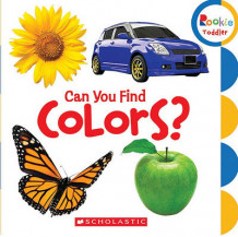 Can You Find Colors? (Pappbok)
