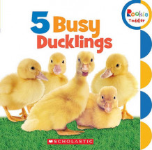 5 Busy Ducklings (Pappbok)