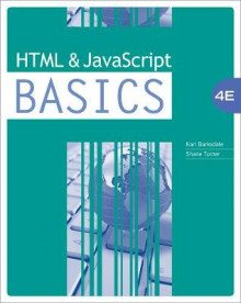 HTML and JavaScript Basics av Karl Barksdale og E. Turner (Heftet)