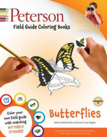Peterson Field Guide Coloring Book: Butterflies av Robert Michael Pyle og Roger Tory Peterson (Heftet)