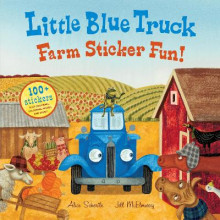 Little Blue Truck Farm Sticker Fun! av Alice Schertle (Heftet)