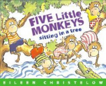 Five Little Monkeys Sitting on a Tree av Eileen Christelow (Innbundet)