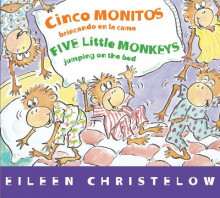 Cinco Monitos Brincando En La Cama/Five Little Monkeys Jumping on the Bed av Eileen Christelow (Pappbok)