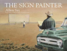 The Sign Painter av Allen Say (Heftet)