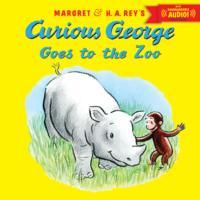 Curious George Goes to the Zoo (with downloadable audio) (Heftet)
