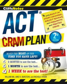 Cliffsnotes ACT Cram Plan av Jane R Burstein, William Ma og Nichole Vivion (Heftet)