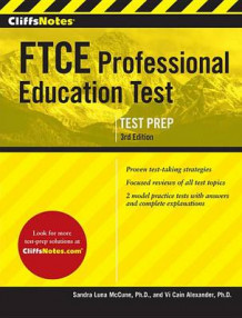 CliffsNotes FTCE Professional Education Test (Heftet)