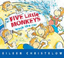 Five Little Monkeys Wash the Car av Eileen Christelow (Innbundet)