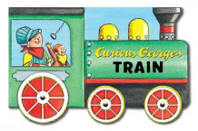 Curious George's Train: Mini Movers Shaped Board Books av H.A. Rey (Pappbok)