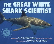 The Great White Shark Scientist av Sy Montgomery (Innbundet)