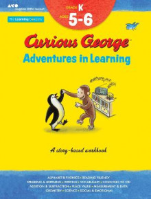Curious George Adventures in Learning, Kindergarten av The Learning Company (Heftet)