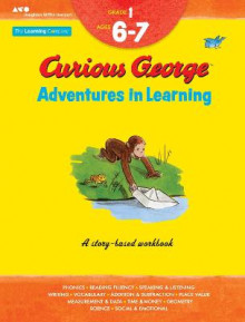 Curious George Adventures in Learning, Grade 1 av The Learning Company (Heftet)