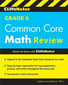 Cliffsnotes Grade 6 Common Core Math Review av Sandra Luna McCune (Heftet)