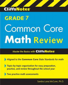 Cliffsnotes Grade 7 Common Core Math Review av Sandra Luna McCune (Heftet)