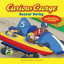 Curious George Boxcar Derby (Heftet)
