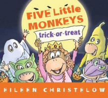 Five Little Monkey Trick or Treat av Eileen Christelow (Innbundet)
