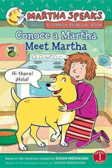 Martha Habla: Conoce a Martha/Martha Speaks: Meet Martha Bilingual Reader av Susan Meddaugh (Innbundet)
