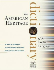American Heritage Dictionary of the English Language av Editors Of the American Heritage Dictionaries (Innbundet)