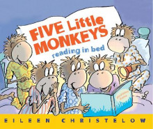 Five Little Monkeys Reading in Bed av Eileen Christelow (Heftet)