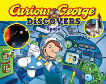 Curious George Discovers Space av H. A. Rey (Heftet)