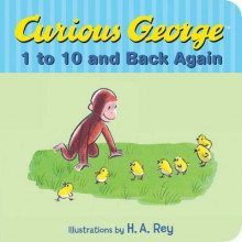 Curious George's 1 to 10 Back and Back Again av H. A. Rey og Margret Rey (Innbundet)