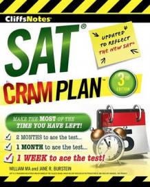 Cliffsnotes SAT Cram Plan 3rd Edition av William Ma og Jane R Burstein (Heftet)