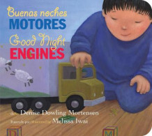 Buenas Noches Motores/Good Night Engines Bilingual Board Book av Denise Dowling Mortensen (Pappbok)