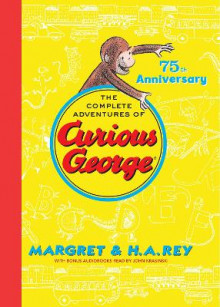 Complete Adventures of Curious George 75th Anniversary Edition av H.A. Rey (Innbundet)