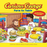 Omslag - Curious George Farm to Table (CGTV 8x8)