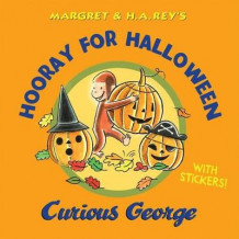 Hooray for Halloween, Curious George av H. A. Rey (Innbundet)