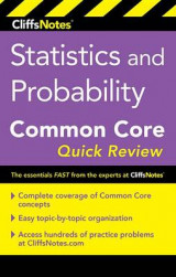 Omslag - Cliffsnotes Statistics and Probability Common Core Quick Review