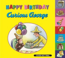 Happy Birthday, Curious George! av H. A. Rey (Innbundet)