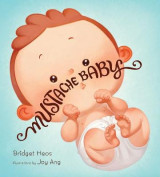 Omslag - Mustache Baby (Board Book)